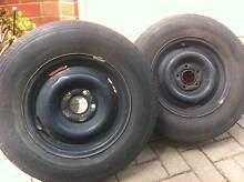 Holden HK HJ HT wheel rims x 2 Seaton Charles Sturt Area Preview