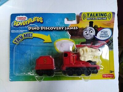Fisher Price Thomas & Friends Adventures Dino Discovery James Talking Engine New