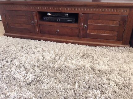 SOLID DARK TIMBER TV UNIT Colonel Light Gardens Mitcham Area Preview