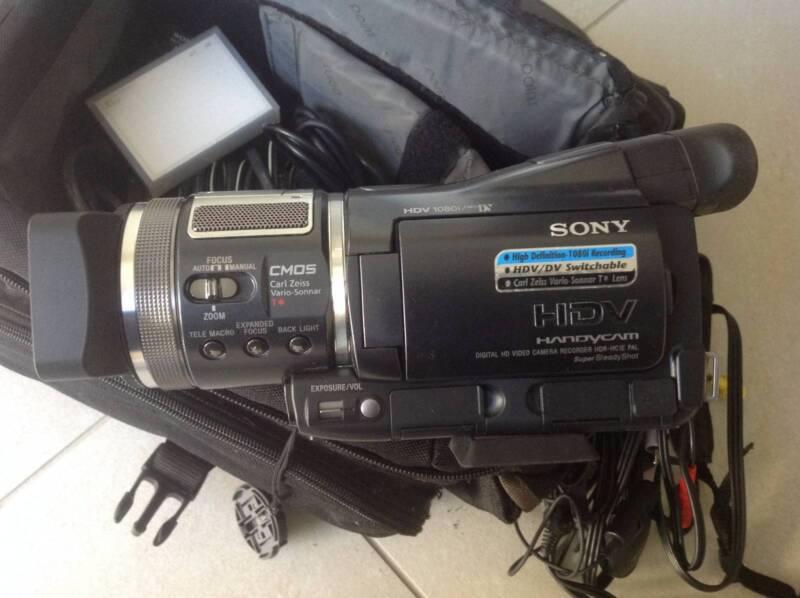 Sony Recording Cameras Sony Hdv Digital hd Camera