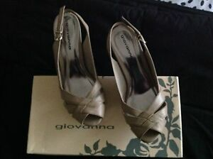 Beige 'Giovanna' leather shoes Brinsmead Cairns City Preview