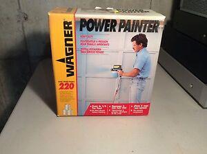 Power painter sprayer