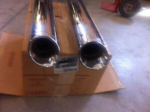 Bub pipes for street glide or Electra. Removable baffles,