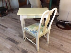 Beautiful Refinished Desk and Chair