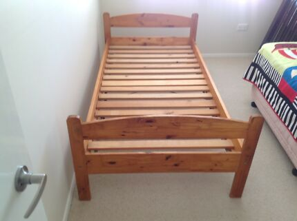 Wooden Single Beds.
