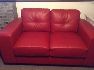 2 love seat, tv stand, rug and cushions
