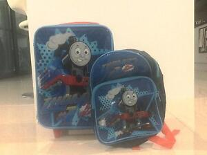 Thomas the Tank Engine suitcase and backpack Medowie Port Stephens Area Preview