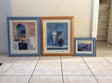 Mediterranean framed pictures Padstow Bankstown Area Preview