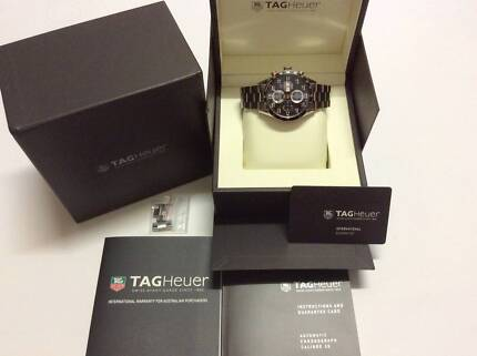 TAG HEUER CARRERA CALIBRE 16 DAY DATE  IN MINT CONDITION Docklands Melbourne City Preview