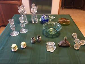 This and That-Vintage-Antique Glass, Crystal and Collectables