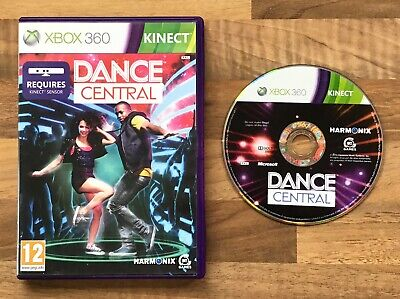 DANCE CENTRAL (X-BOX 360 KINECT GAME) HARMONIX REGION FREE PAL MICROSOFT PEGI 12 for sale  Shipping to Nigeria
