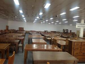 Superb MASSIVE CLEAROUT! 50+ SOLID TIMBER TABLES   FROM $70 $220 Dandenong South  Greater