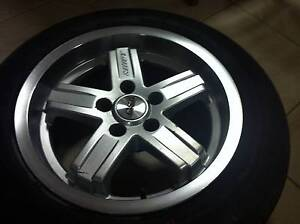 "CSA Mullins Shift mags alloys 16"" suit Ford AU BA BF set + spares Sinagra Wanneroo Area Preview"