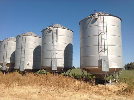 Kotzur grain/fertiliser silos Ardlethan Coolamon Area Preview