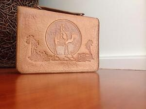 Egyptian hand tooled handbag 1956 Gerroa Kiama Area Preview