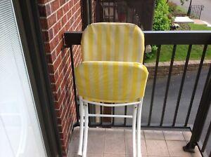 Chaises pour Patio extérieur et intérieur