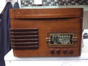 Radio ,table tournante