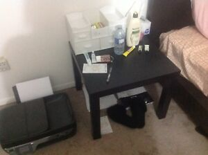 IKEA small coffee table/clothes hanger laundry rack