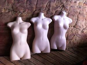 3 Hanging manequin flat  torso female Narrabeen Manly Area Preview