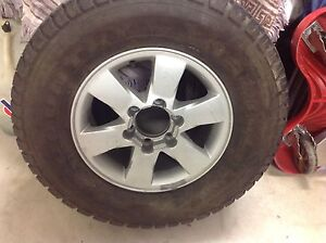 1 x dmax wheel and tyre Redcliffe Redcliffe Area Preview