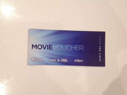 $10 movie ticket for Greater Union/ Event cinema/ village cinema Bexley Rockdale Area Preview