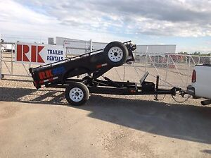 5x10 Canadian trailers dump trailer for sale