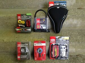 WOW! six different Items for your bike only $15 bucks each