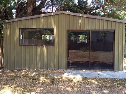 garden shed man cave granny flat