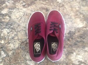 Boys Vans running shoes size 5