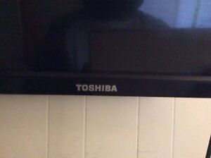 Tosh is 42 inch flatscreen with mount