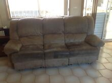 Lounge Suite  Fabric 1 X 3 seater 2 X 1 seater Bradbury Campbelltown Area Preview