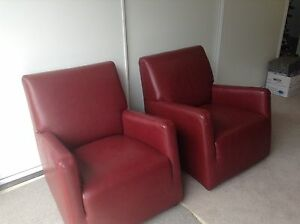 "Armchair ""Bay Leather Republic"" Campbelltown Campbelltown Area Preview"