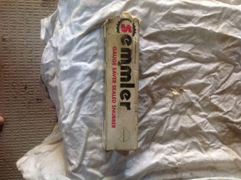 Semmler Gauge Saver Sealed Snubber | Truck Parts | Gumtree