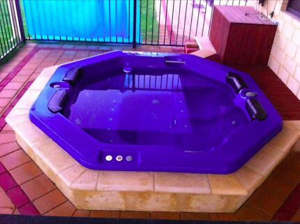 Spa pool in ground installation Melville Melville Area Preview