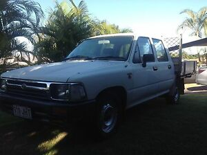 Toyota Hilux Twin cab ute 1992 Thornlands Redland Area Preview