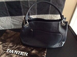 Leather Navy Purse
