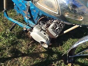 1966 Yamaha YL-1 Twin Jet 100 Project Or Parts