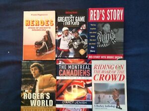 Hockey Book Collection