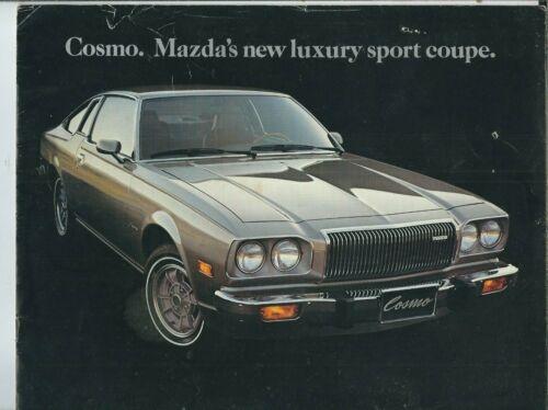 ND-008 Mazda Cosmo Advertising Brochure Booklet 1980