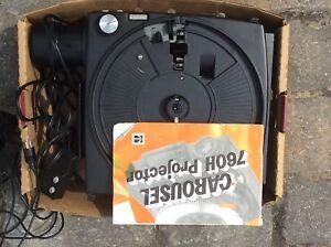 Kodak carousel 760h projector