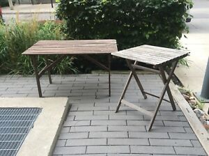 Outdoor or indoor tables