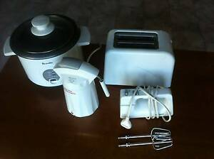 Toaster, rice cooker, cappachino frother and mixer Bardwell Park Rockdale Area Preview
