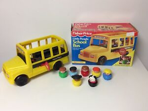 Fisher Price Little People School Bus, in the box
