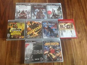 Lot ps3 game