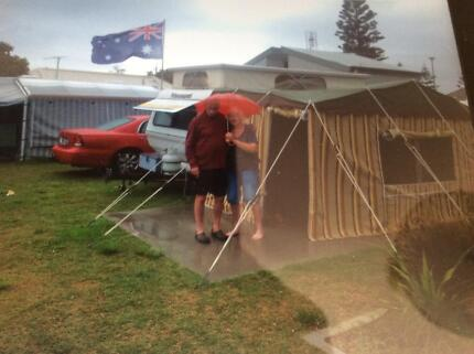 Caravan Pop top viscount sea breeze 1990