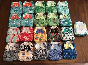 One size pocket cloth diapers (couche lavable Bumgenius à poche)
