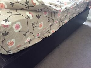 Free king size bed base with drawers Mosman Mosman Area Preview
