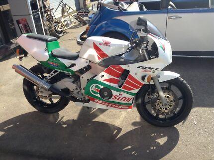 Original Honda castrol cbr 250r motorbike Nerang Gold Coast West Preview