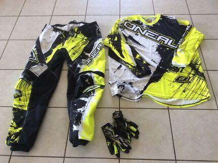 Motorcross riding gear