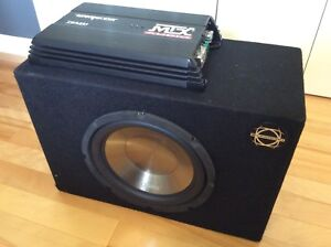 Amplificateur et sub neuf - Amplifier and sub - Brand new